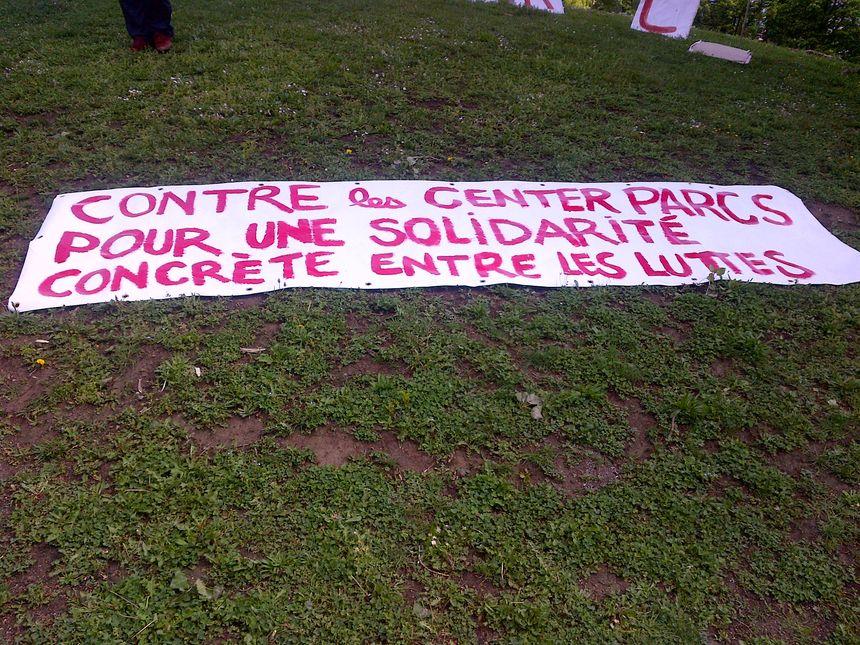 Les zadistes et anti Center Parcs mobilisaient contre d'autres projets