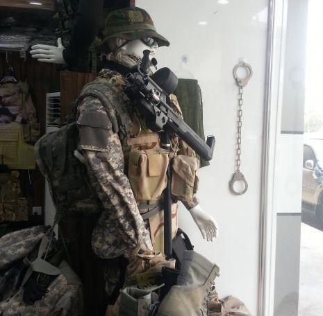magasins d'armes en Irak