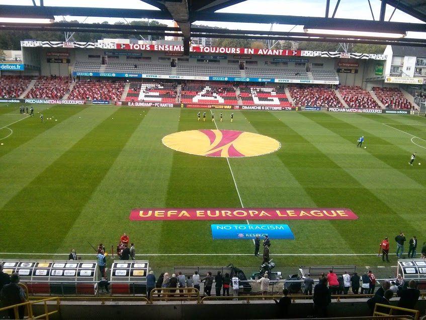 Le stade de Roudourou a accueilli la Coupe d'Europe