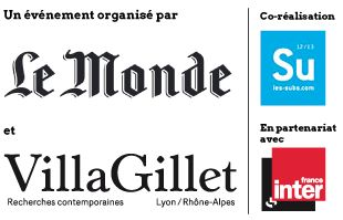 logo Air-Subsistances-Villa Gillet-Le Monde-France Inter