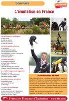 Brochure Fédération d'équitation