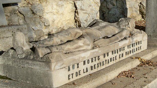 Le mémorial du maquis du Ventoux, à Sault, honore la mémoire des 353 résistants morts au combat