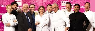 Les chefs du festival Taste of Paris
