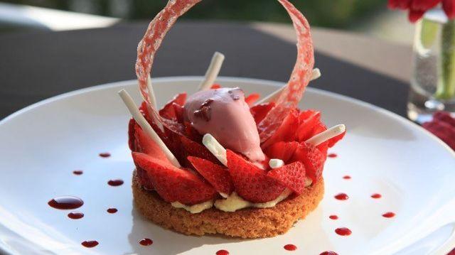 La tarte la rhubarbe for On cuisine ensemble france bleu