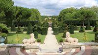 Projet de jardin éphémère chez William Christie