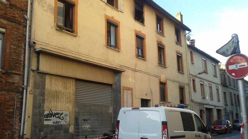 Cet immeuble rue du Maroc a déjà subi plusieurs incendies.