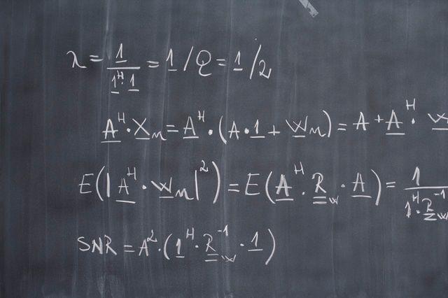 Recherches mathématiques sur un tableau
