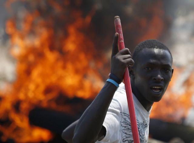 Violentes manifestations au Burundi
