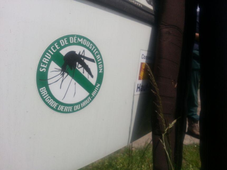 Moustiques  Ecusson