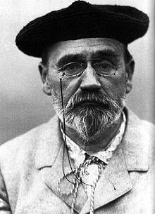 Autoportrait au béret, Emile Zola, 1902