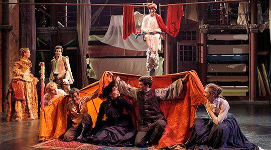 Le Bourgeois gentilhomme au Théâtre des Bouffes du Nord