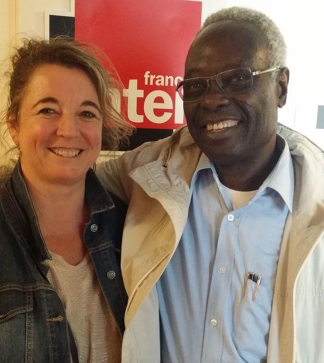 Tété-Michel Kpomassie à France Inter avec Marie-Pierre Planchon
