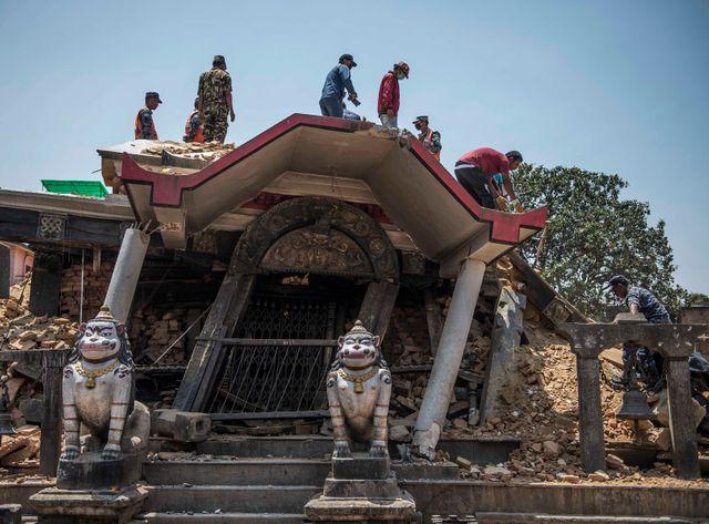 Ce dernier tremblement de terre a été ressenti jusqu'à New Delhi, à 1.000 km de là