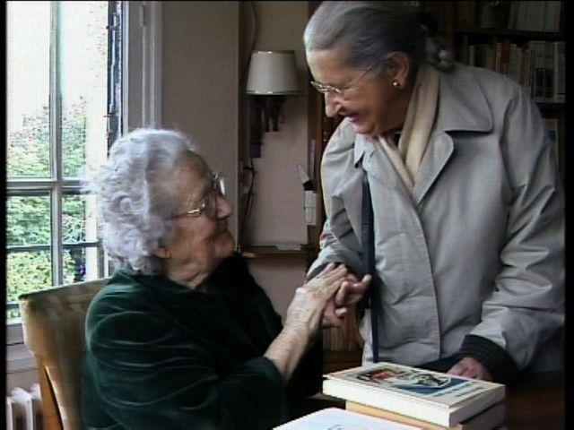 Germaine Tillion et Geneviève de Gaulle