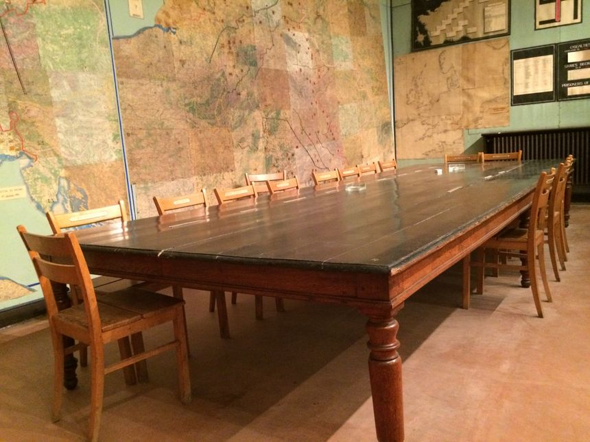 La salle de la Reddition à Reims