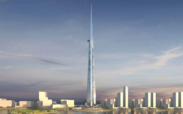 La Kingdom Tower, à Djeddah