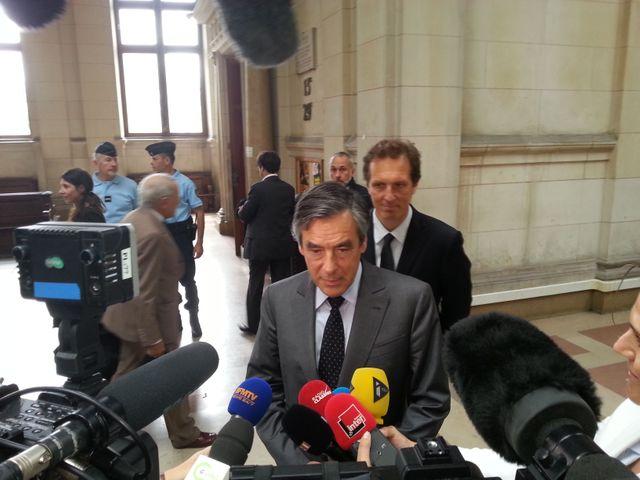 François Fillon au tribunal correctionnnel
