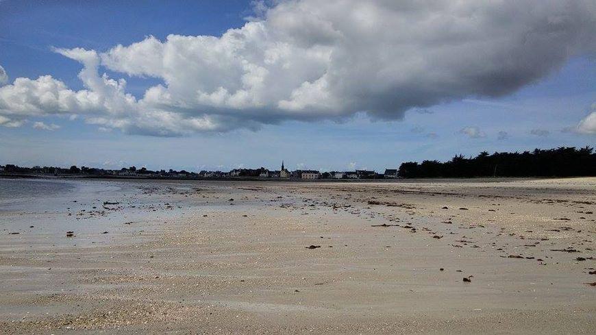 Avec les températures du mois de mai, il n'y avait aucun baigneur à l'Ile Tudy.
