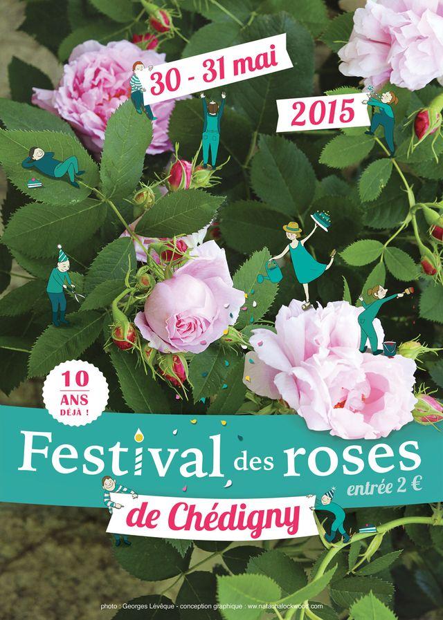 Fête de la rose à Chédigny