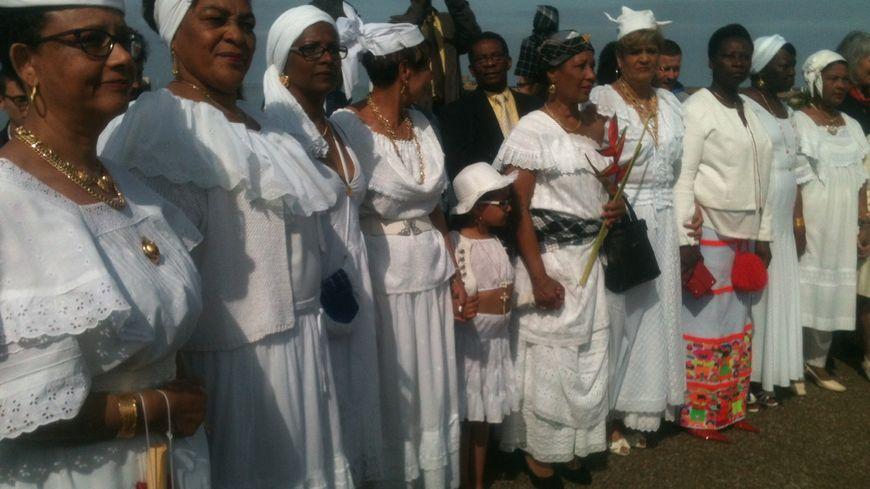 Cérémonie de commémoration de l'abolition de l'esclavage au Havre