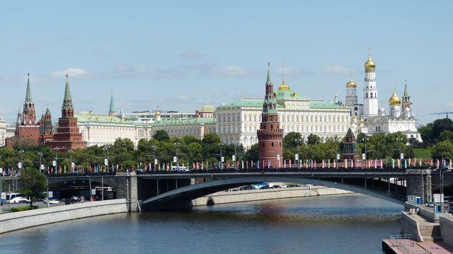 Moscou, le Kremelin