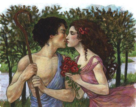 """Daphnis et Chloé Ravel """"le baiser"""""""