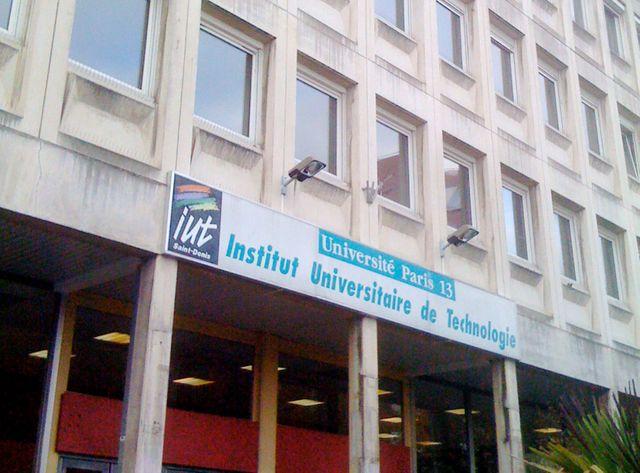 L'IUT de Saint-Denis. Une enquête judiciaire est en cours.