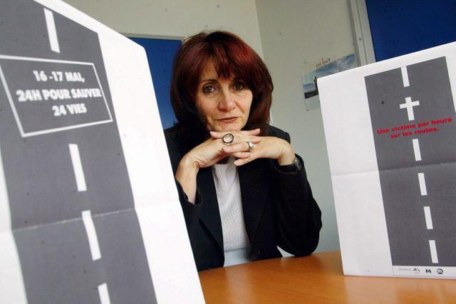 Tout le réseau secondaire doit passer de 90 à 80 km/h pour Chantal Perrichon, Présidente de la ligue contre la violence routière