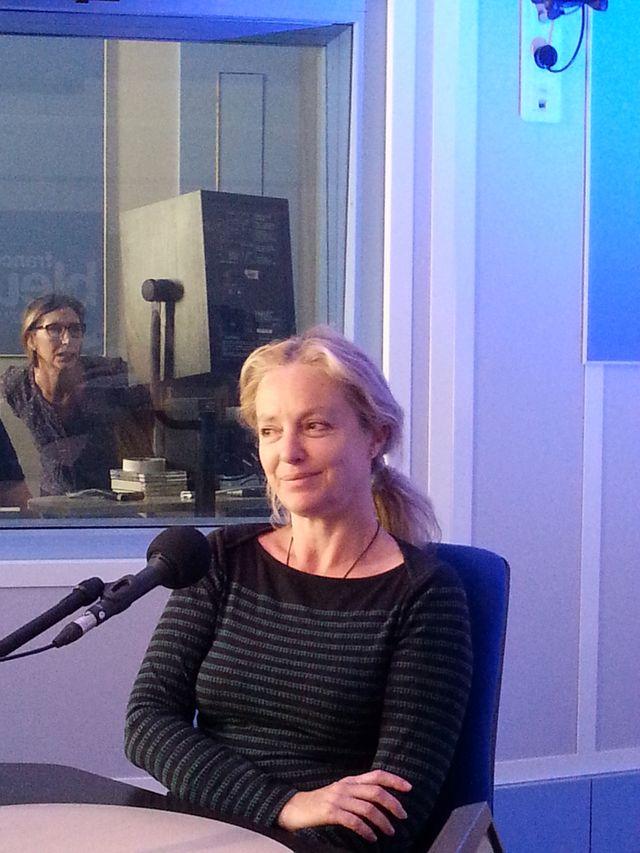 Iria Brook et Lauranne Thomas, la réalisatrice de l'émission
