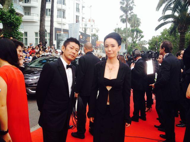 """La réalisatrice japonaise Naomi Kawase avant la cérémonie d'ouverture """"Un Certain regard"""""""