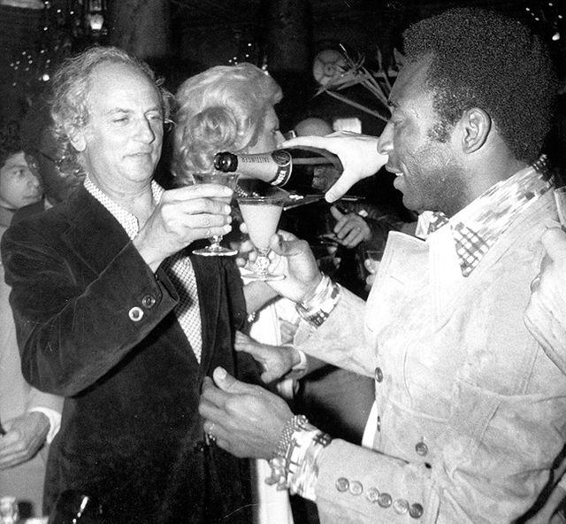 Pelé et François Reichenbach