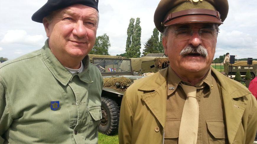 Christian Royer et Yves Le Garnec, de l'association CVMO, sont les deux organisateurs de ce camp américain éphémère