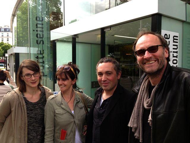 Marianne Tardieu, Christine Masson, Sébastien Betbeder et Claus Drexel