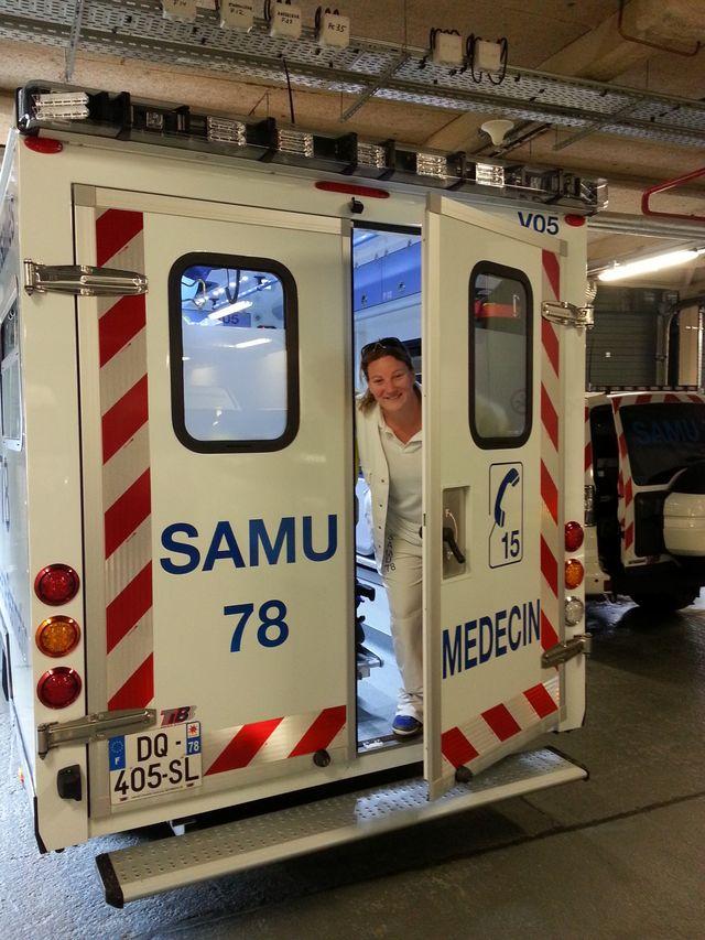 Notre reporter Solenne Le Hen dans la peau d'un urgentiste
