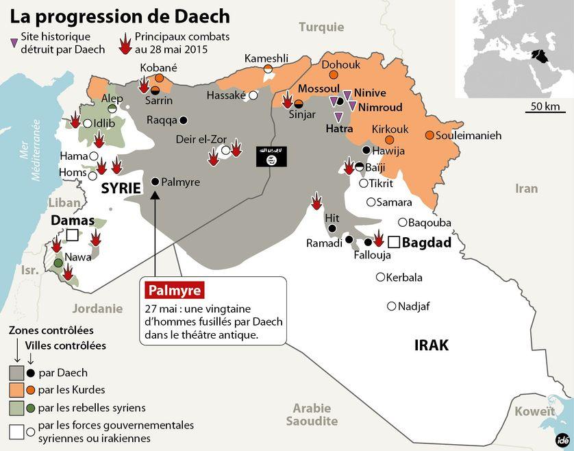La frontière syro-irakienne totalement contrôlée par Daech