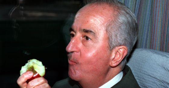 Edouard Balladur pendant la campagne présidentielle de 1995