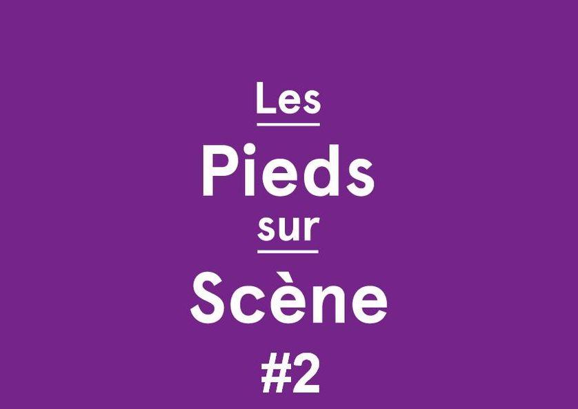 Logo Les Pieds sur scène #2