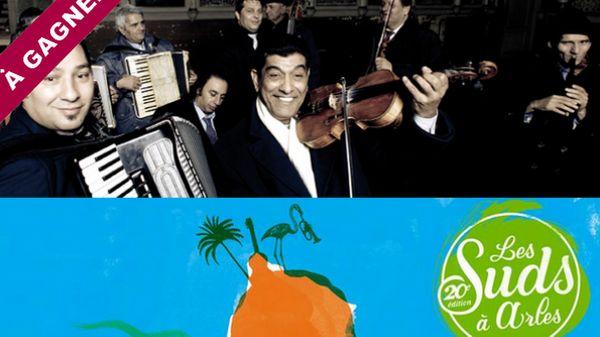 Concert de Taraf de Haïdouks au festival Les Suds à Arles