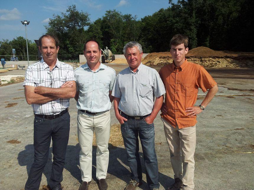 Gilles Trémouille, Julien Michau, Guy Debregeas et Laurent Quentin