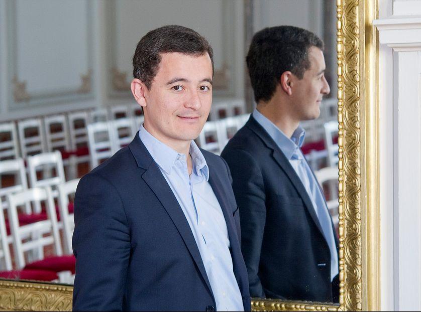Gérald Darmanin, député maire UMP de Tourcoing, le 17 avril 2015, à Tourcoing