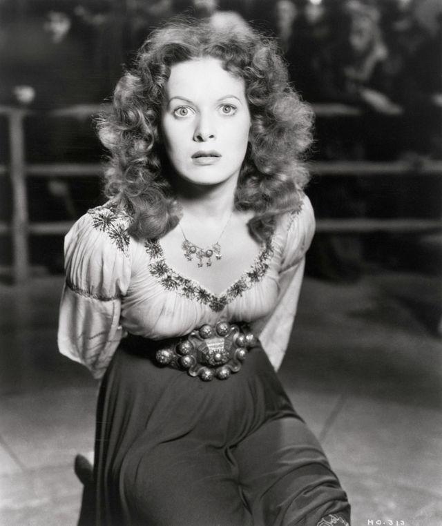 Maureen O'Hara Le bossu de Notre Dame de 1939