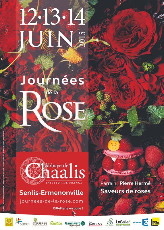Journées de la rose à Chaalis