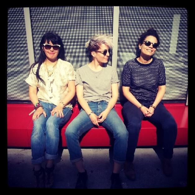 Narumi Herisson, jeanne Added et Anne Paceo