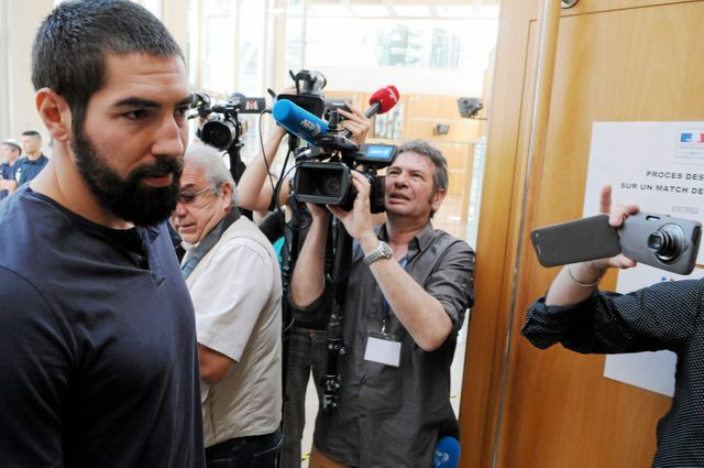 Nikola Karabatic au procès des paris suspects