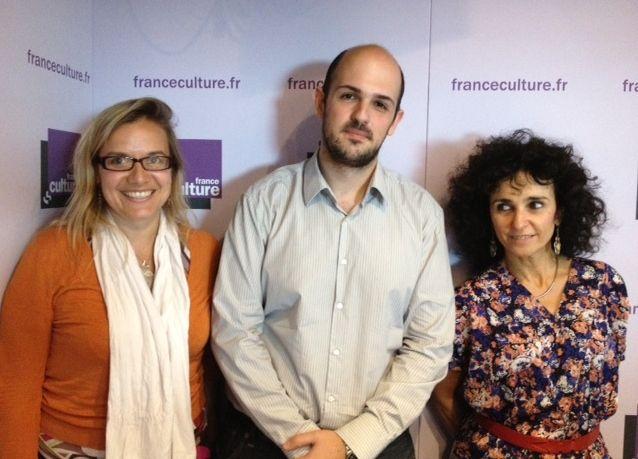 Claire Wyart, Michael Benzaquen et Elisabeth Bouchaud