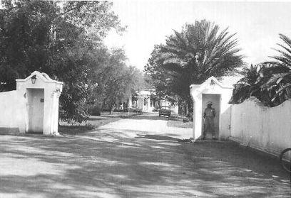 Le palais royal de Bujumbura avant l'attaque