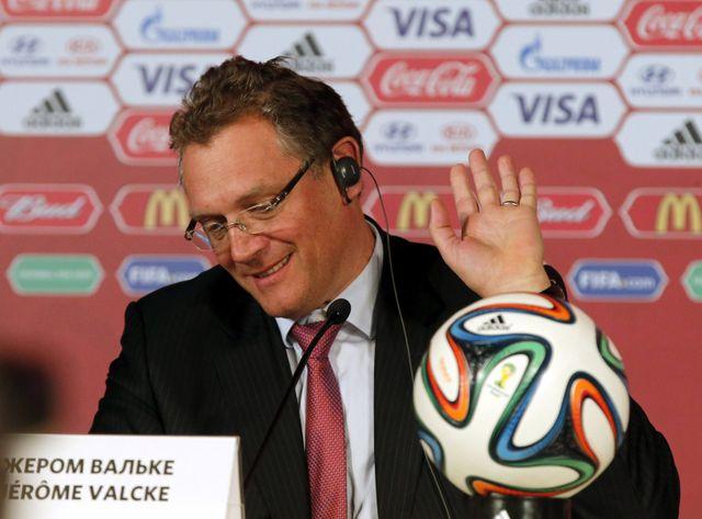 Jérôme Valcke, secrétaire général de la Fifa, est le bras droit de Sepp Blatter.