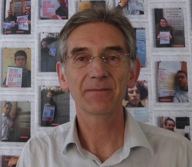 Pixel Services Publics - Claude Leicher, président du syndicat MG France