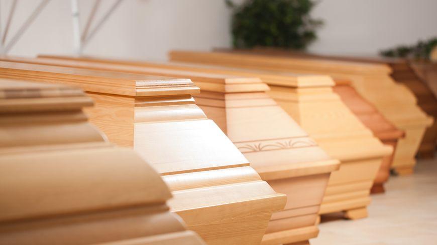 Cercueils - pompes funèbres (illustration)