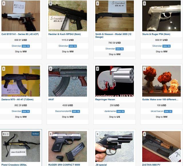 darknet :armes